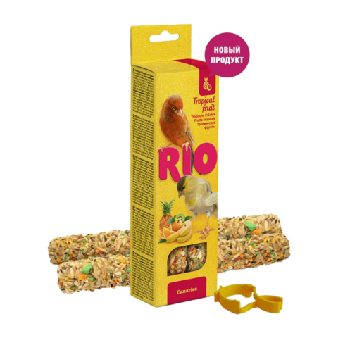 Rio Лакомство для канареек Палочки с тропическими фруктами