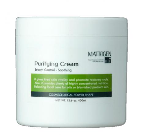 Завершающий восстанавливающий крем для лица Purifying Cream Matrigen 400 мл