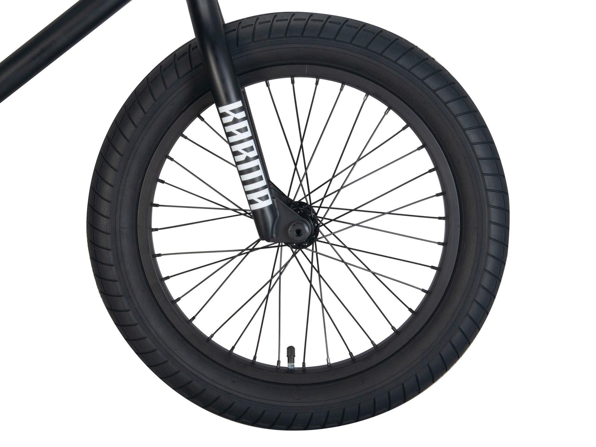 "BMX Велосипед Karma Zodiac LT 18"" (черный)"