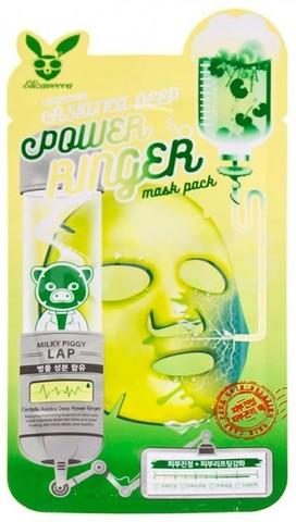 Тканевая маска для лица с экстрактом центеллы азиатской Elizavecca Centella Asiatica Deep Power Ringer Mask Pack