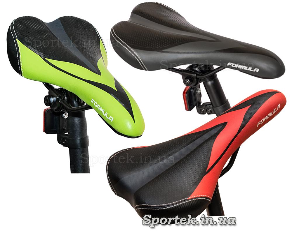 Сідла гірського чоловічого велосипеда Formula Atlant DD (Формула Атлант ДД)