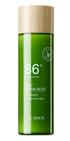 SAEM Jeju Fresh Aloe Emulsion Эмульсия для лица увлажняющая с алоэ 155мл