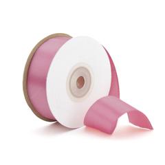 Лента Атлас Пыльно-розовый, 25 мм * 22,85 м