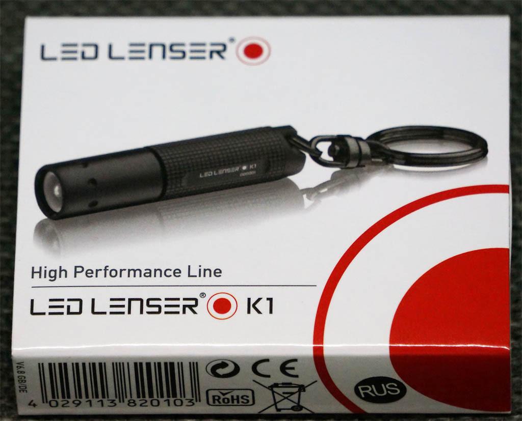 Фонарь-брелок светодиодный LED Lenser K1, 17 лм., 4-AG3, картонная упаковка