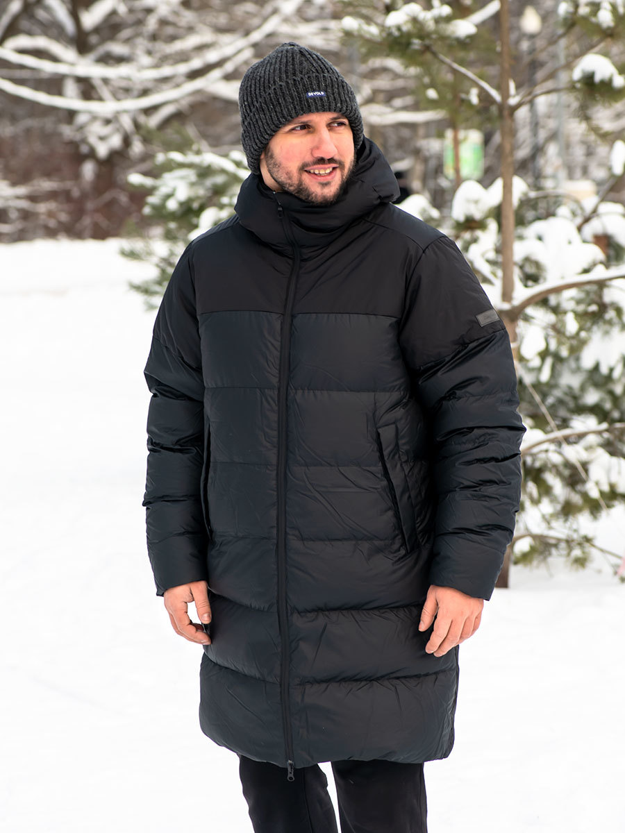 Bergans пуховик 7560 Oslo Unisex Down Parka Black