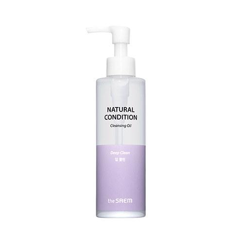Масло для лица гидрофильное для глубокого очищения, 180 мл, Natural Condition Cleansing Oil Deep Clean