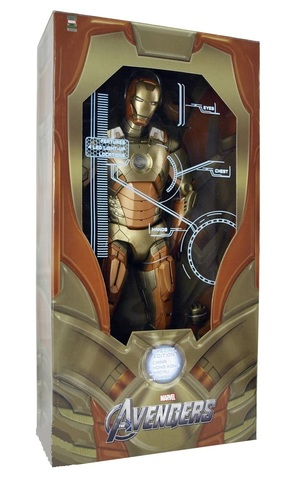 Мстители фигурка 45 см Железный человек Марк 21 Мидас