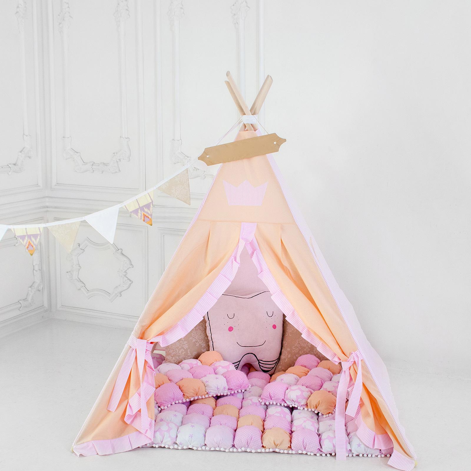 """Палатка ВигВам для детей """"Принцесса на горошине"""""""