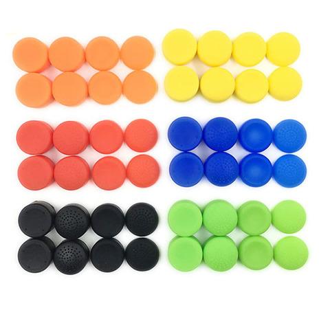 Силиконовые накладки на стики высокие (Nintendo Switch, разноцветные, 2шт)