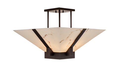 Потолочный светильник Escada Austin 5090/6PL E27*60W Marble