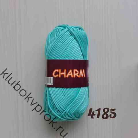 CHARM VITA COTTON 4185, Светлый бирюзовый
