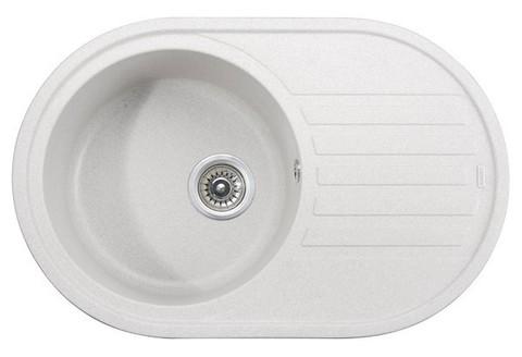 Кухонная гранитная мойка Kaiser KGM-7750-W белый
