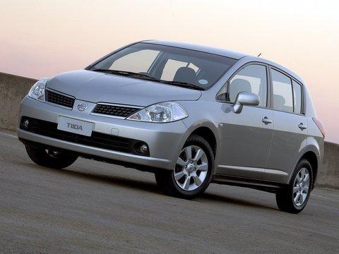 Чехлы на Nissan Tiida хэтчбек 2004–2014 г.в.