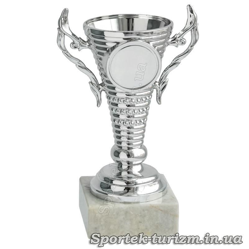 Кубок за 2 місце (срібло) висотою 12 см