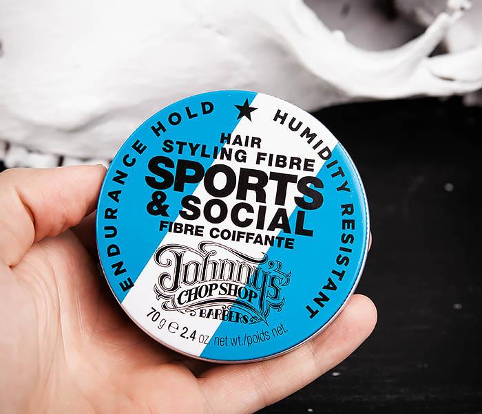CARE103 Файбер для укладки волос Johnny's Chop Shop Sports & Social JCS (70 гр.) фото 05