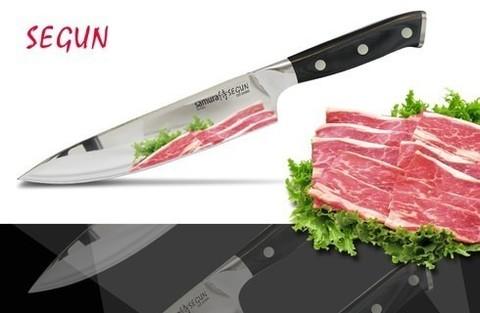 SS-0085/G-10 Нож кухонный Samura SEGUN Шеф