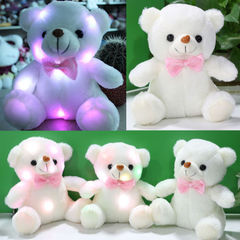 Teddy Bear 7 Colors Changing Light Up Plush