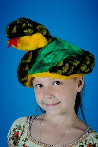 Карнавальная шапочка Змея