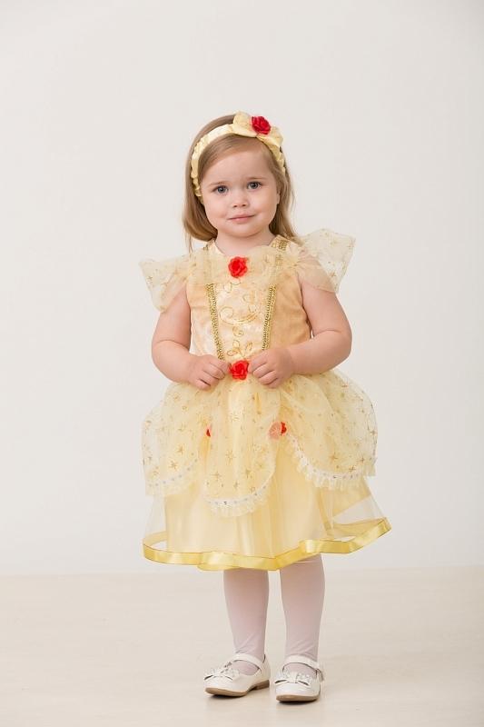 Детский карнавальный костюм Принцесса Белль малышка