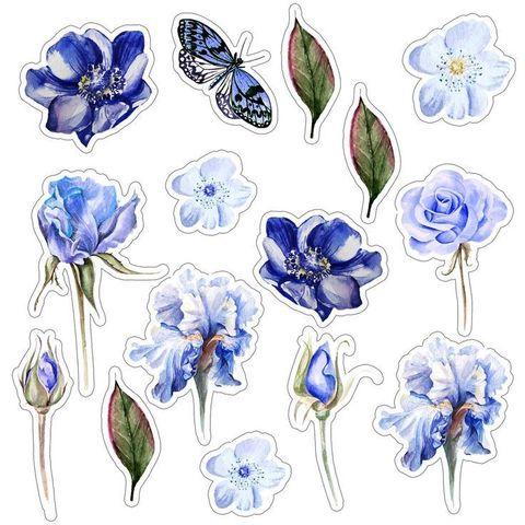 Печать на вафельной бумаге, Набор цветы 6