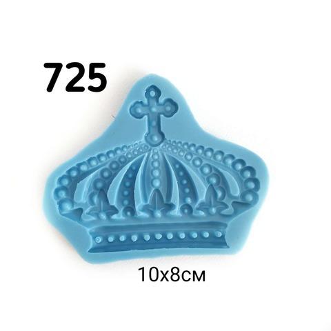 0725 Молд силиконовый. Корона большая.