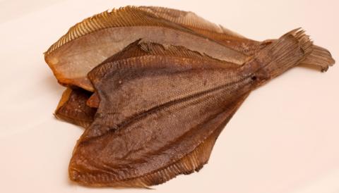 Камбала-ёрш вяленый мурманский крупный 500г