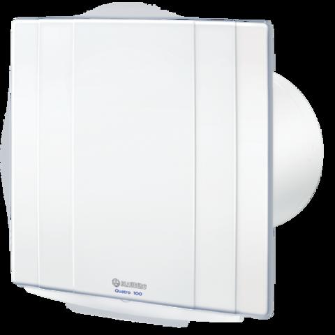 Накладной вентилятор Blauberg Quatro 100 H (Таймер, Датчик влажности)