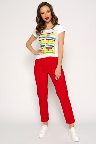 <p>Это самые модные брюки грядущего сезона! Высокая, очень удобная посадка, талия на резинке, функциональные карманы. Ткань супер легкая, эластичная. Длина брюк: (48-50р-104см,52-54р-106,56-58р-108см).</p>