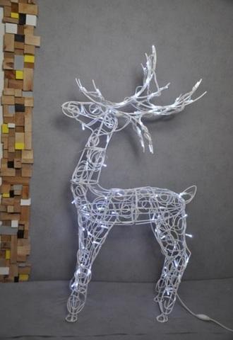 Уличная декоративная фигура одень из гирлянд led