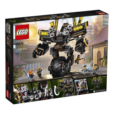 LEGO Ninjago Movie: Робот землетрясений 70632 — Cole's Quake Mech — Лего Ниндзяго фильм