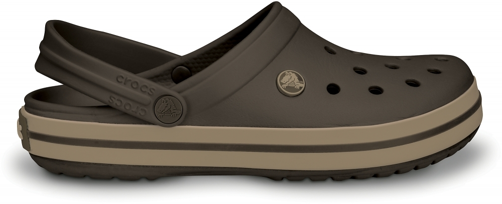 Купить Сабо Crocs Crocband™ Эспрессо/Хаки