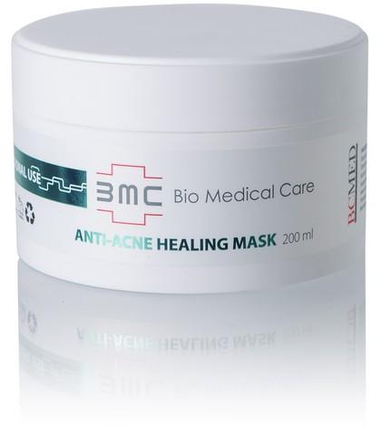 Лечебная маска для проблемной кожи, регулирует выработку кожного сала, лечит воспаления Anti-Acne Healing Mask, 200 мл