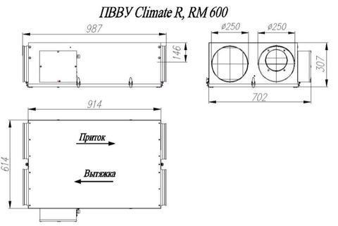 ПВВУ Climate RM600