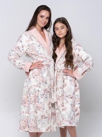 LITTLE MADONNA (peach) детский халат для девочки  Five Wien Турция