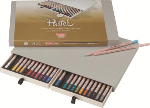 Набор пастельных карандашей Design 24 цвета в подарочной упаковке