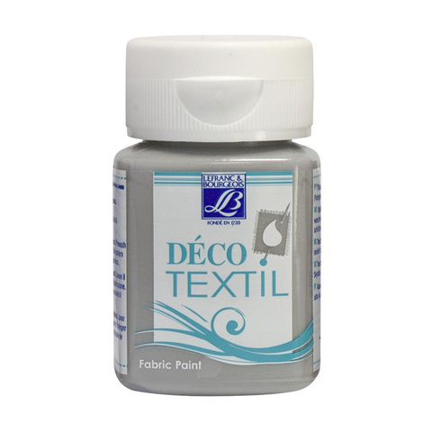 Краска по ткани Lefranc&Bourgeois DECO TEXTIL 50 мл 262, серый камень