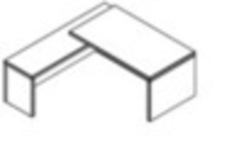 TСT 1820 (L/R)  Стол руководителя (1800х2000х750)