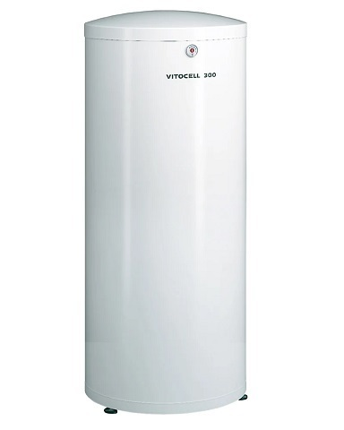 Бойлер Viessmann Vitocell 300-V тип ЕVIA-A из нержавеющей стали 160 л белый, Z015298