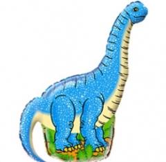 F Мини-фигура Диплодок (синий) 14
