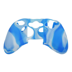 Чехол для геймпада (Xbox One, камуфляж бело-голубой)
