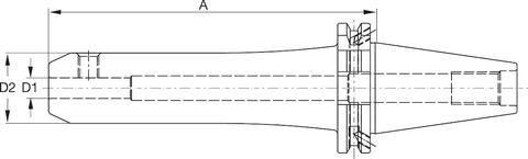 Патрон Weldon, форма ADB SK 40 A = 200