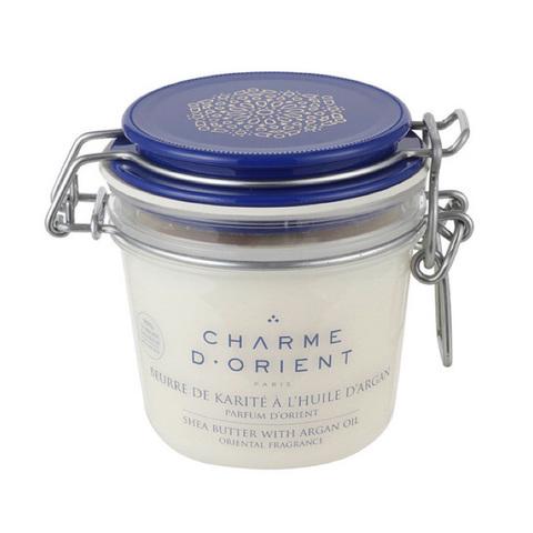 CHARME D'ORIENT | Масло карите с аргановым маслом «Огни Босфора»  / Beurre de Karité à l'huile d'argan parfum, (200 г)