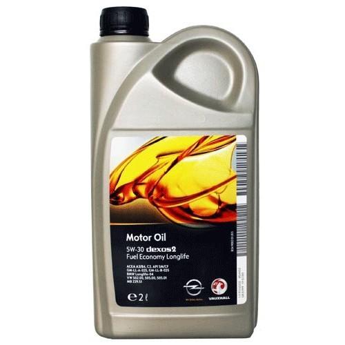 GM Dexos2 5W30 Синтетическое моторное масло