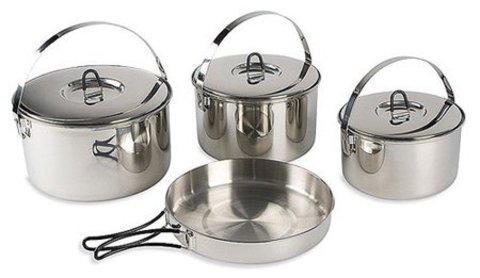 Картинка набор посуды Tatonka Family Cookset L  - 1