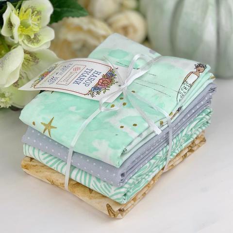 Набор ткани из 4х отрезов №10 (арт. NT10)