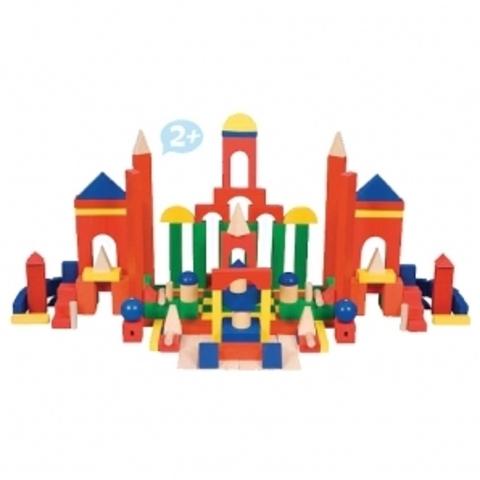 Деревянный конструктор Развитие 163 деталей Краснокамская игрушка
