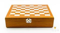 Набор Шахматы с флягой 230 мл (8 унций), 7 предметов, фото 4
