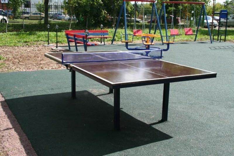 Стол теннисный, всепогодный, уличный