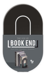 Kitab stendi - The PopUp Book End Black