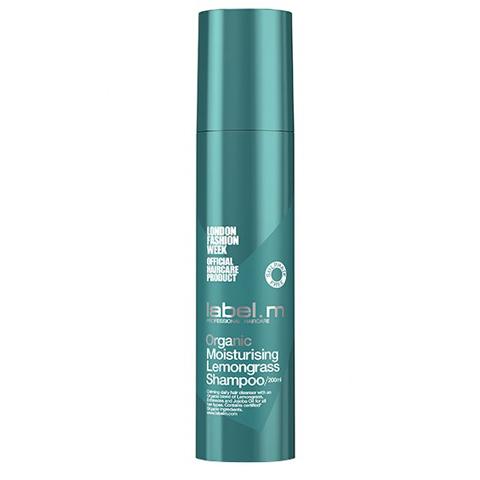 LABEL.M Cleanse: Шампунь для волос Органик Лемонграсс (Organic Moisturising Lemongrass Shampoo), 200мл/1л